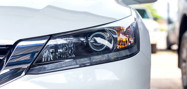 Coating materials for automotive headlamps